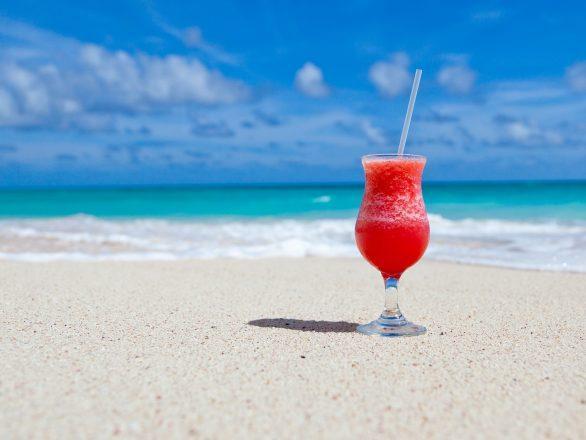 koktajl na plaży